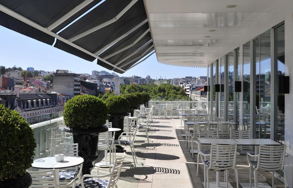 Hotel Romantique Altis Avenida Lisbonne terrasse