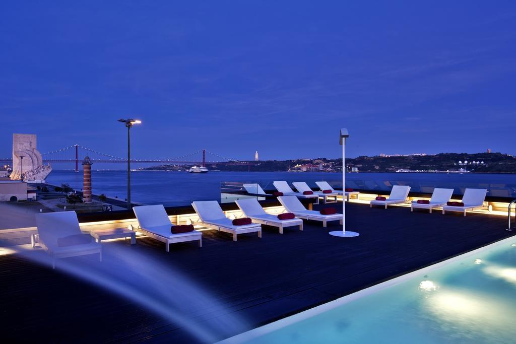 Hotel Romantique Altis Belem Lisbonne piscine
