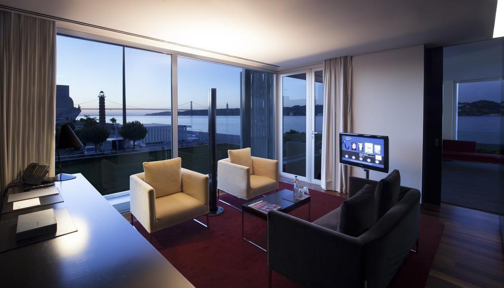 Hotel Romantique Altis Belem Lisbonne salon