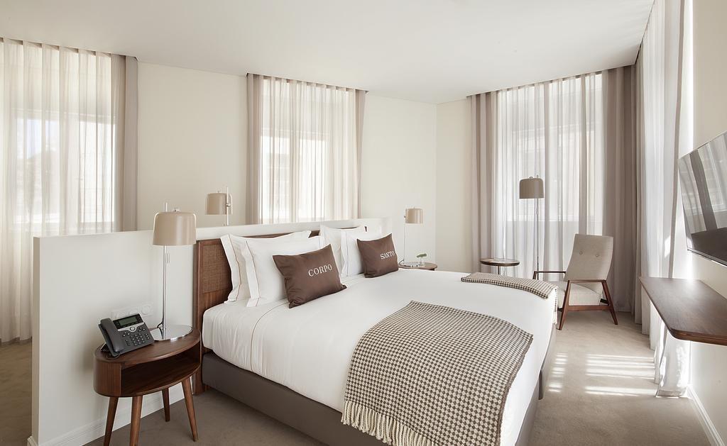 Hotel Romantique Corpo Santo Lisbonne chambre