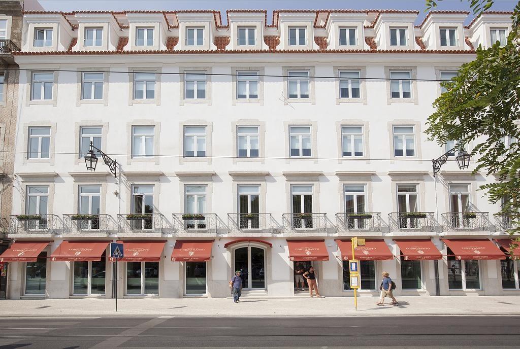 Hotel Romantique Corpo Santo Lisbonne exterieur