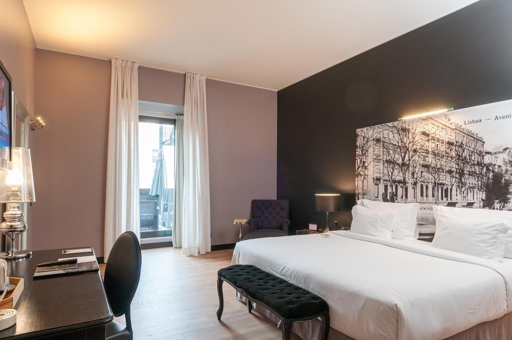 Hotel Romantique Fontecruz Lisbonne chambre