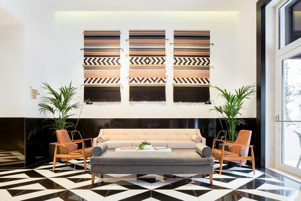 Hotel Romantique Lumiares Lisbonne salon