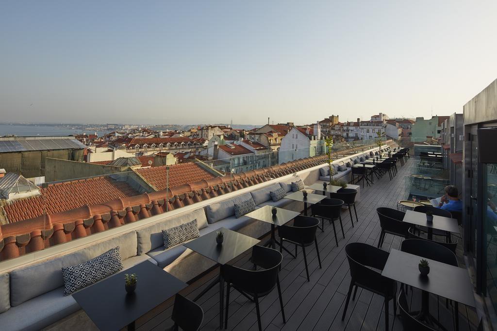 Hotel Romantique Lumiares Lisbonne terasse