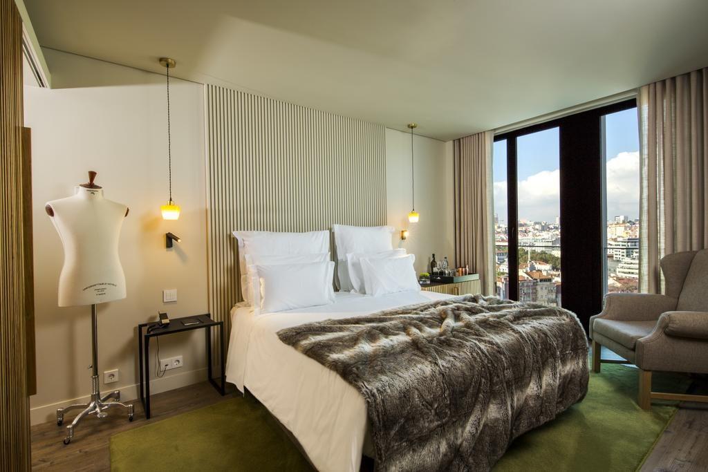 Hotel Romantique Memmo Principe Real Lisbonne chambre