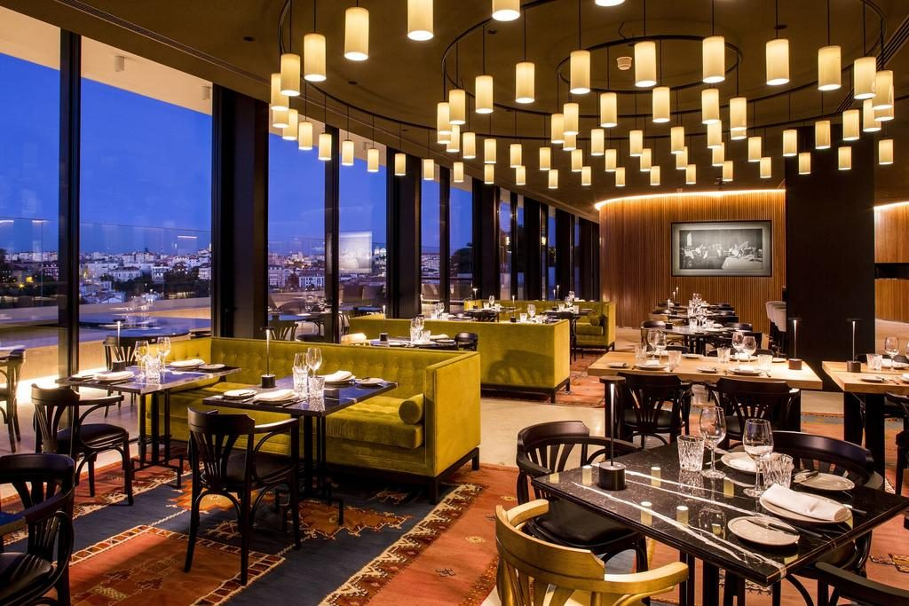 Hotel Romantique Memmo Principe Real Lisbonne restaurant