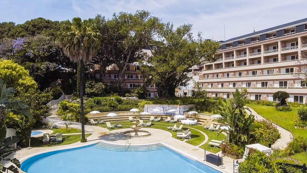 Hotel Romantique Olissippo Lisbonne jardin