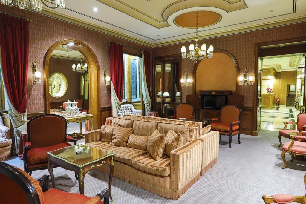 Hotel Romantique Olissippo Lisbonne salon