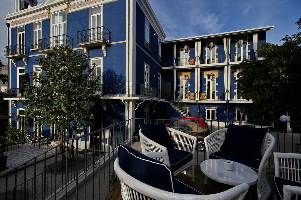 Hotel Romantique Torel palace Lisbonne bar