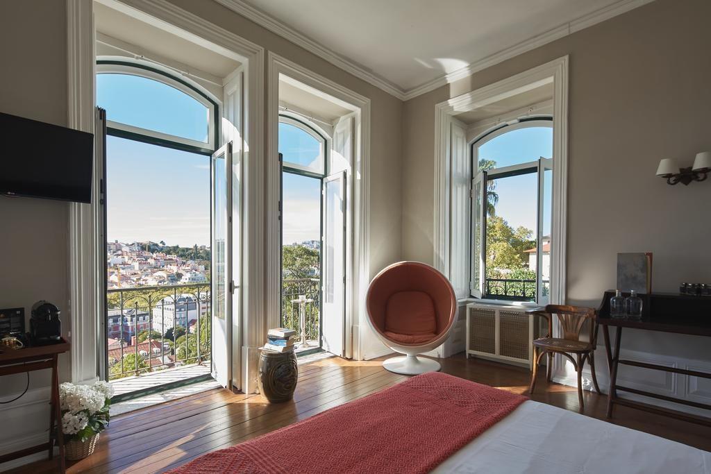 Hotel Romantique Torel palace Lisbonne chambre
