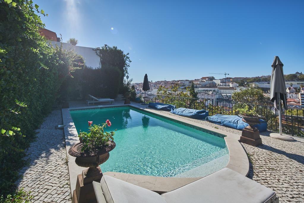 Hotel Romantique Torel palace Lisbonne piscine