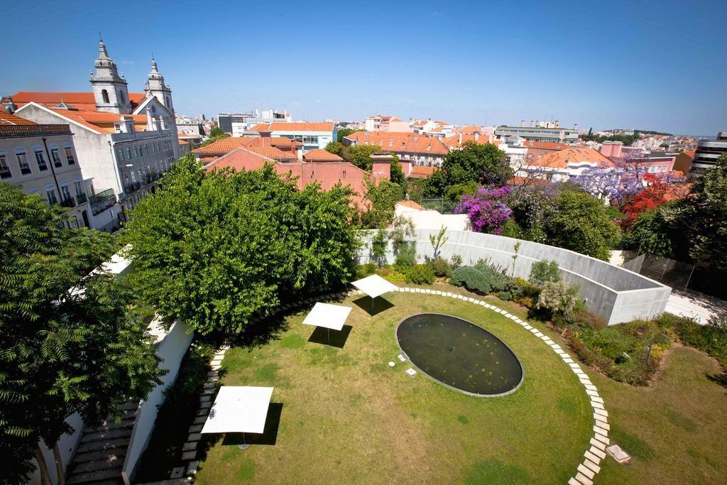Hotel Romantique da Estrela Lisbonne jardin