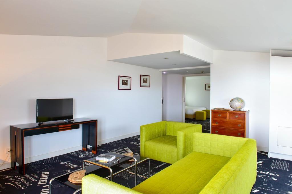 Hotel Romantique da Estrela Lisbonne salon