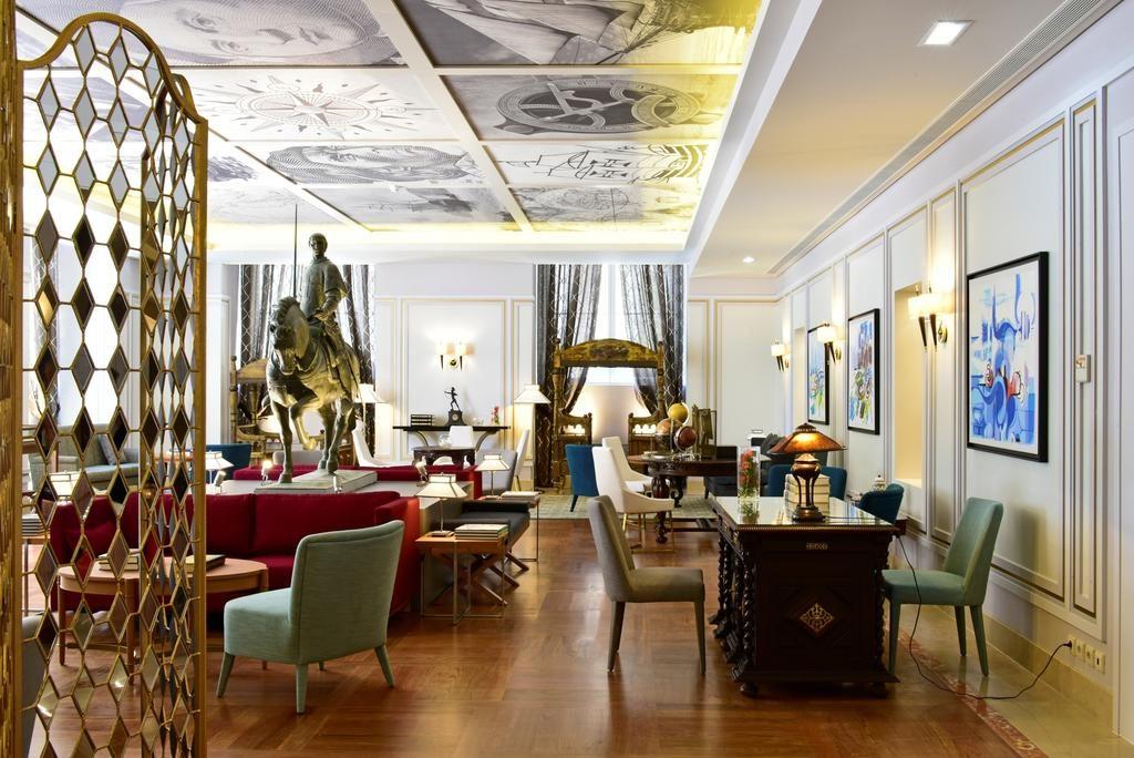 Hotel Romantique pousada Lisbonne salon