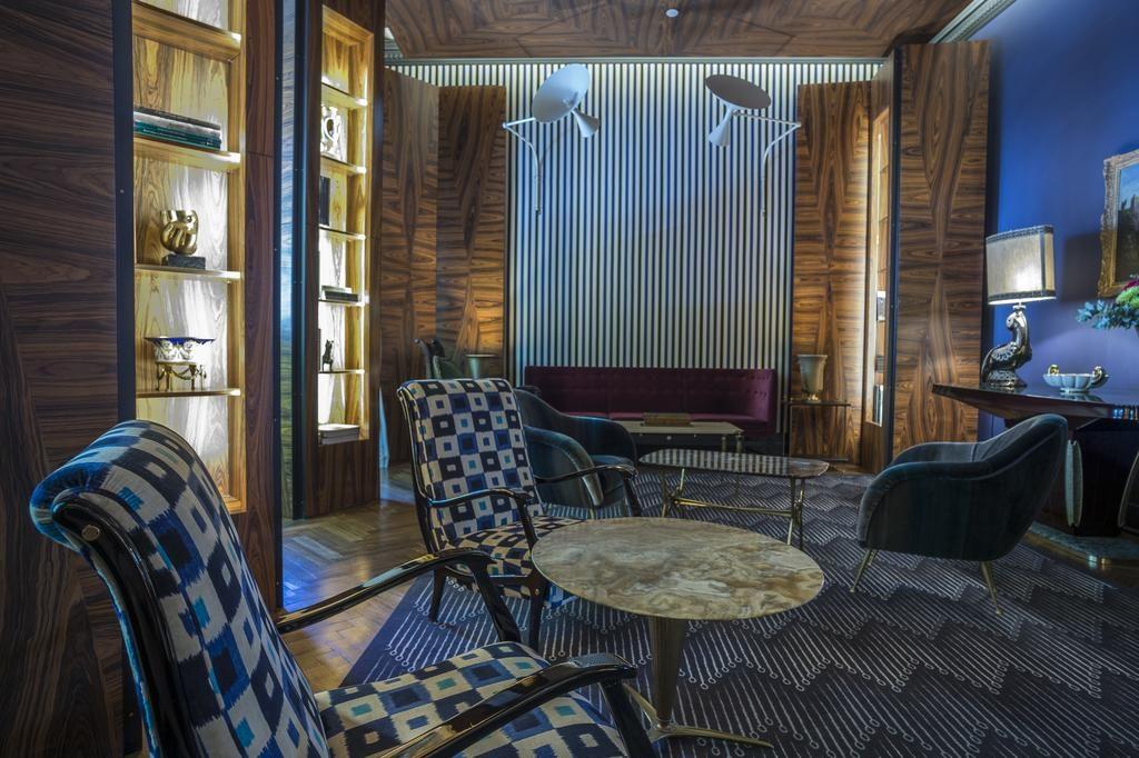 Hotel Romantique valverde Lisbonne salon
