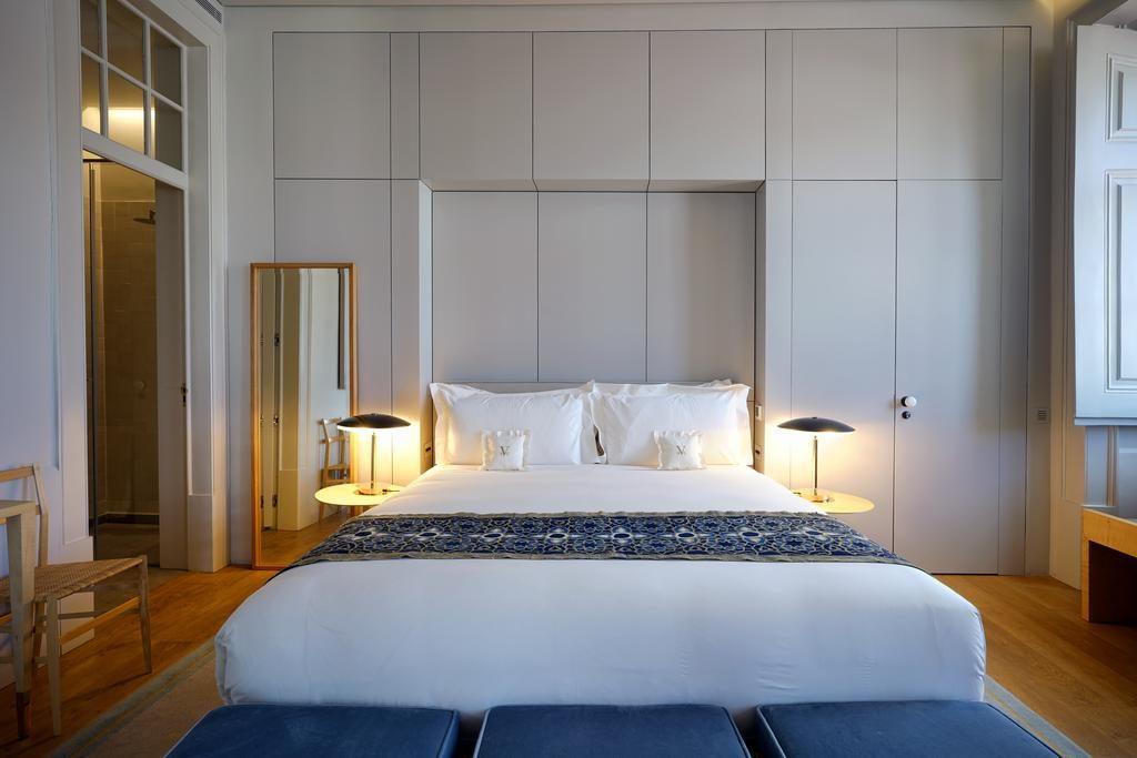 Hotel Verride palacio Santa Catarina Lisbonne chambre