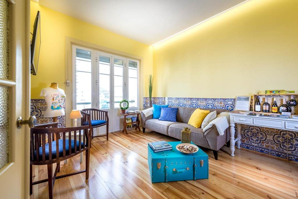Hotel de charme Casa Belmonte Lisbonne salon