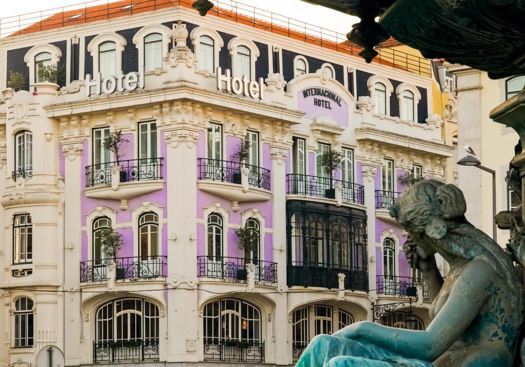 Hotel de charme Internacional Lisbonne exterieur