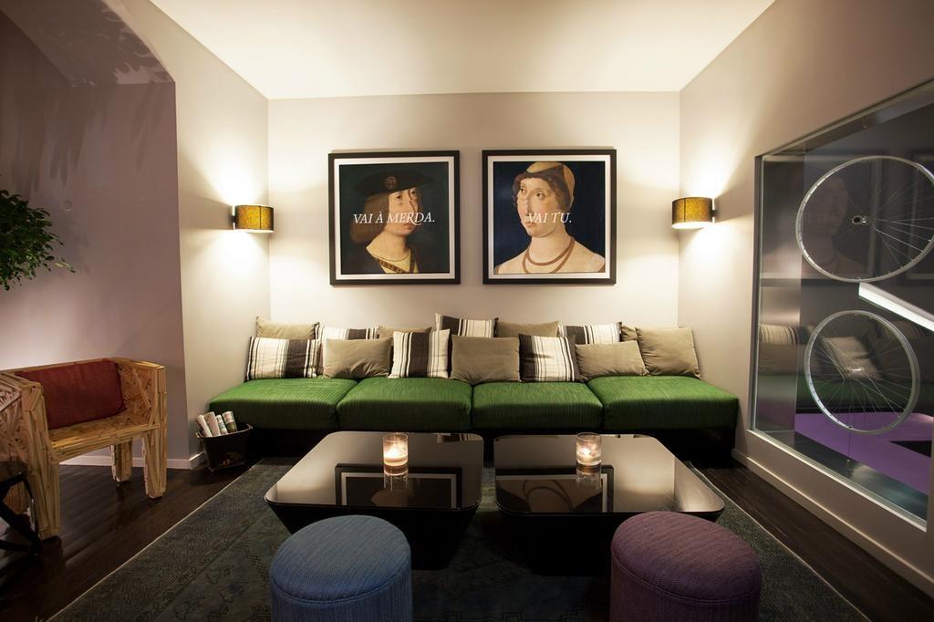 Hotel de charme Internacional Lisbonne salon