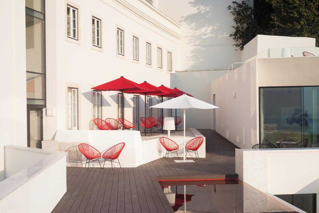 Hotel de charme Memmo Alfama Lisbonne bar