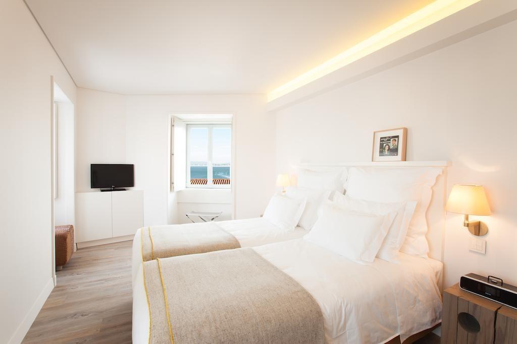 Hotel de charme Memmo Alfama Lisbonne chambre
