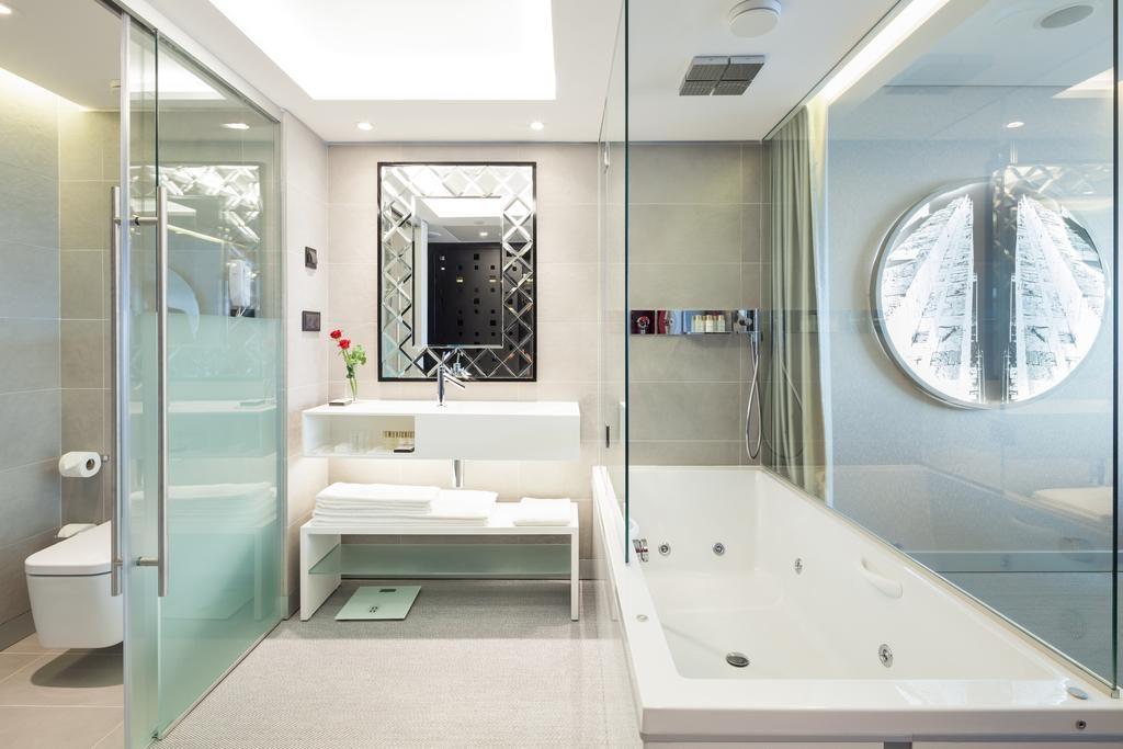 Hotel de charme Myriad Lisbonne salle de bain