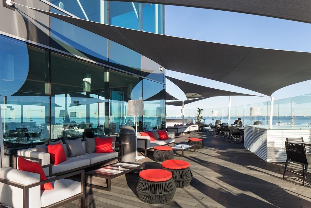 Hotel de charme Myriad Lisbonne terrasse