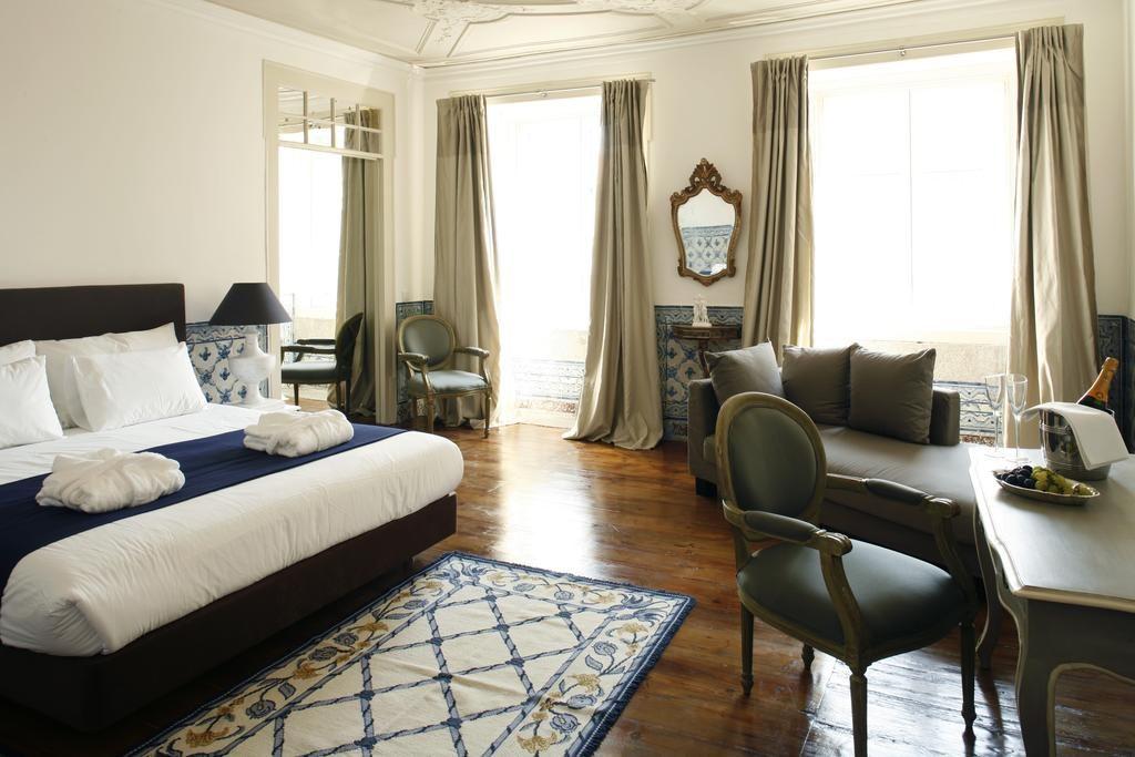 Hotel de charme Palacio Ramalhete Lisbonne chambre