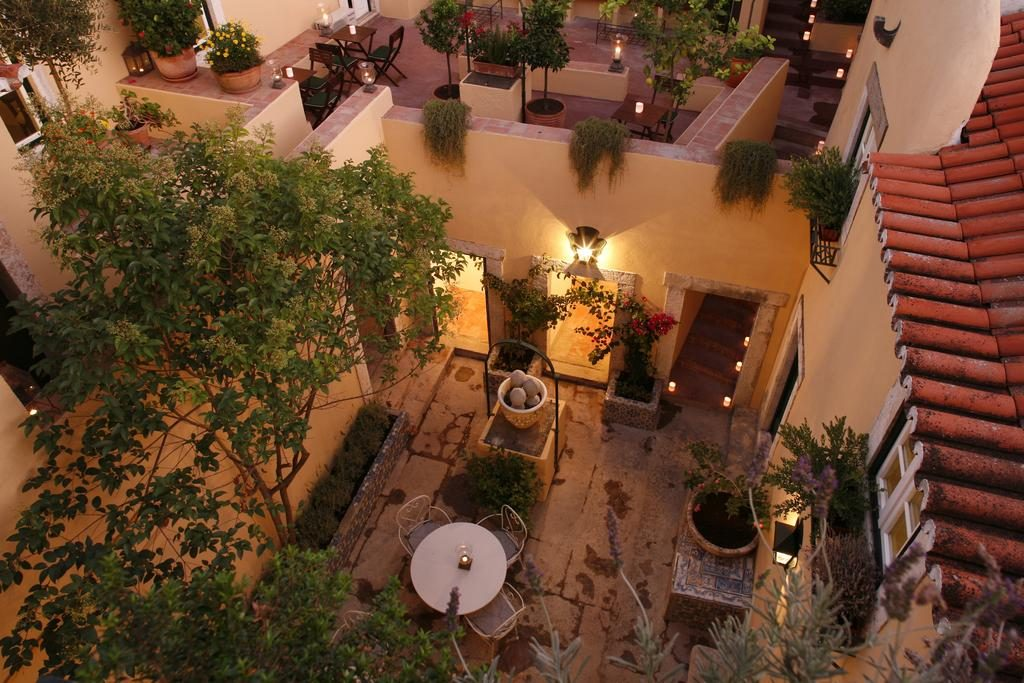 Hotel de charme Palacio Ramalhete Lisbonne exterieur