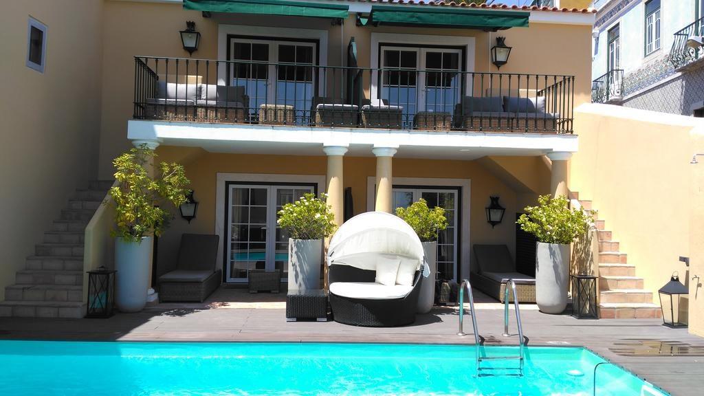 Hotel de charme Palacio Ramalhete Lisbonne piscine