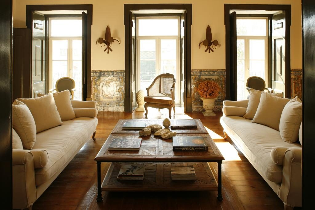 Hotel de charme Palacio Ramalhete Lisbonne salon