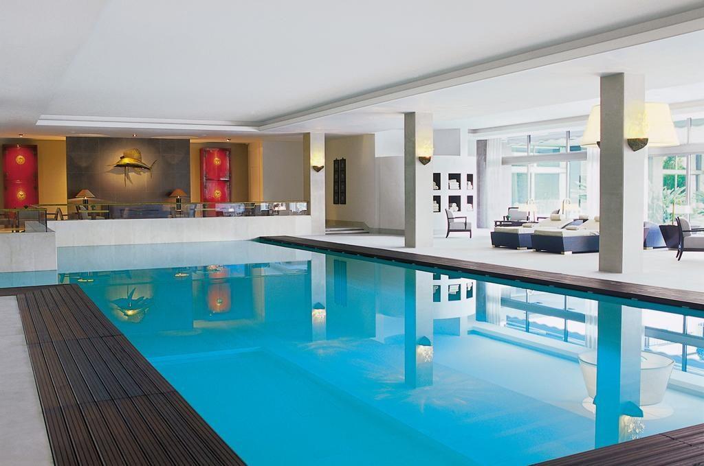 Hotel de charme Ritz Lisbonne piscine
