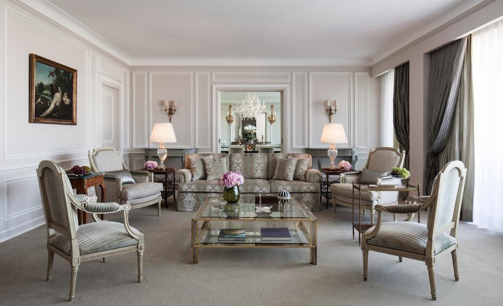 Hotel de charme Ritz Lisbonne salon