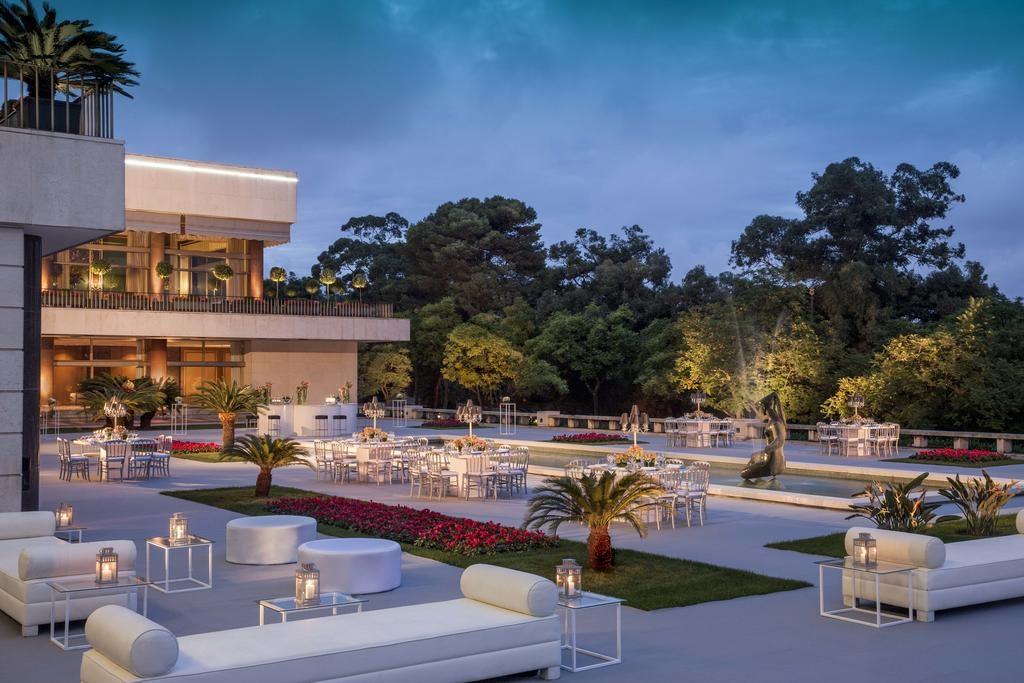 Hotel de charme Ritz Lisbonne terrasse