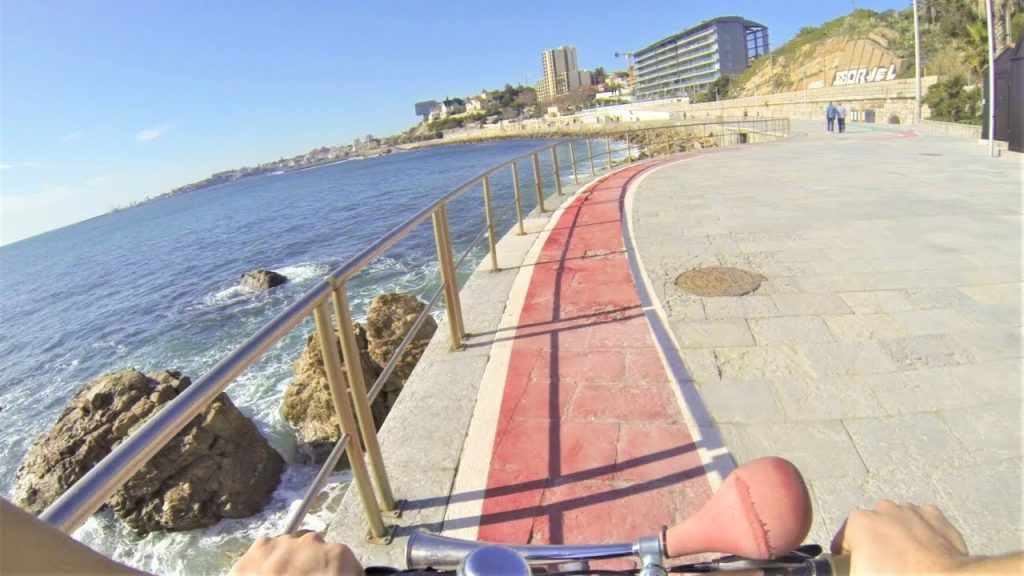 Visit cascais and Estoril in bike