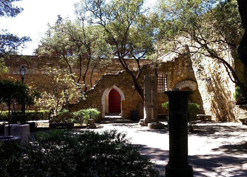 Ruines Château Saint Georges Lisbonne