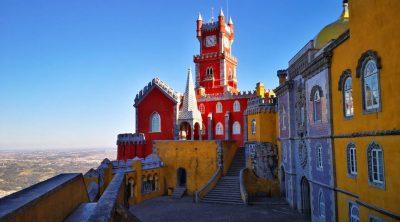 Visita il Palacio da Pena a Sintra