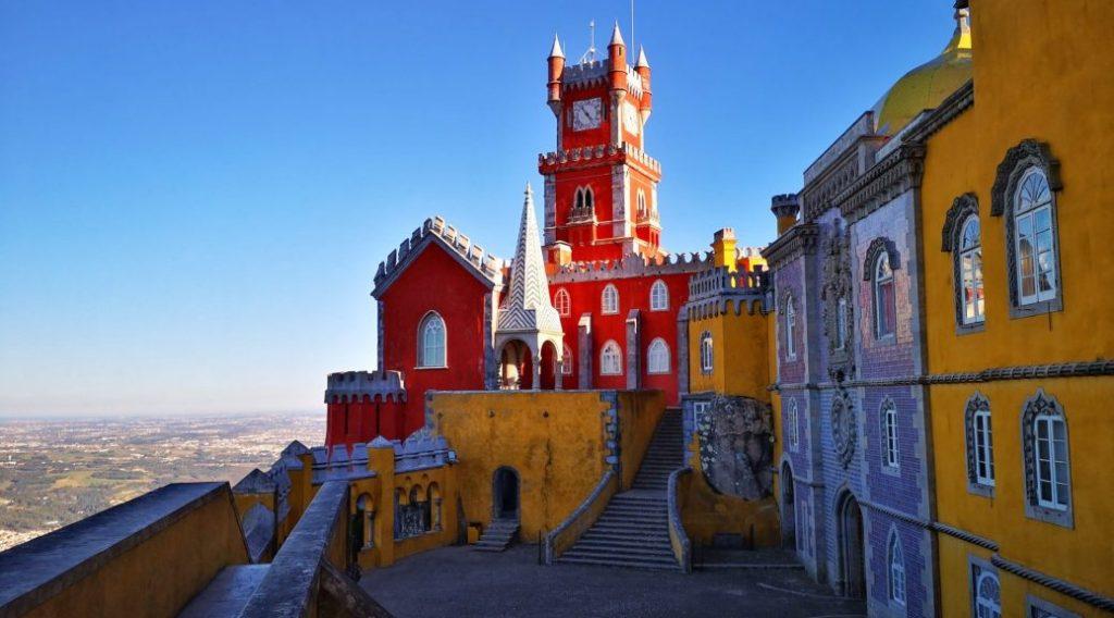 Terrasses du Palais de Pena Sintra