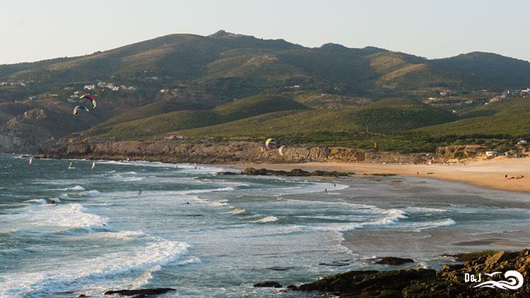 Besuch Guincho Strand Cascais