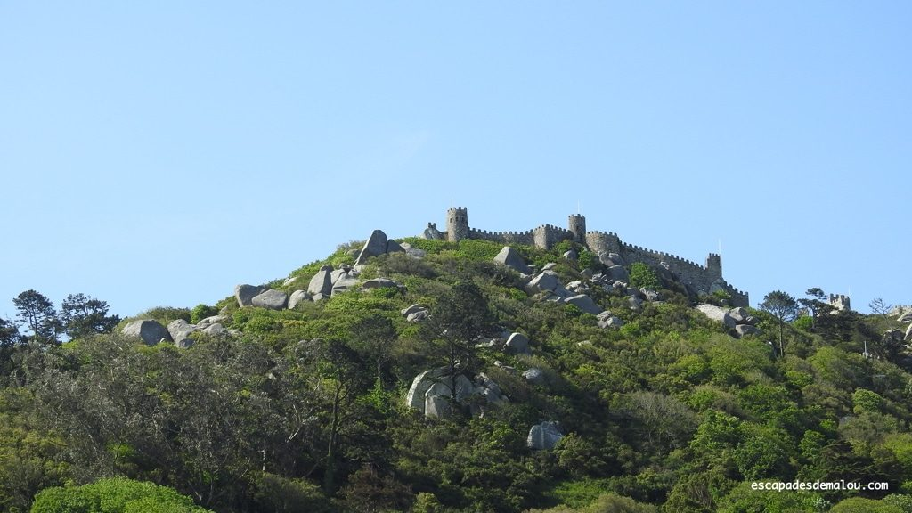 Visiter le château des Maures à Sintra