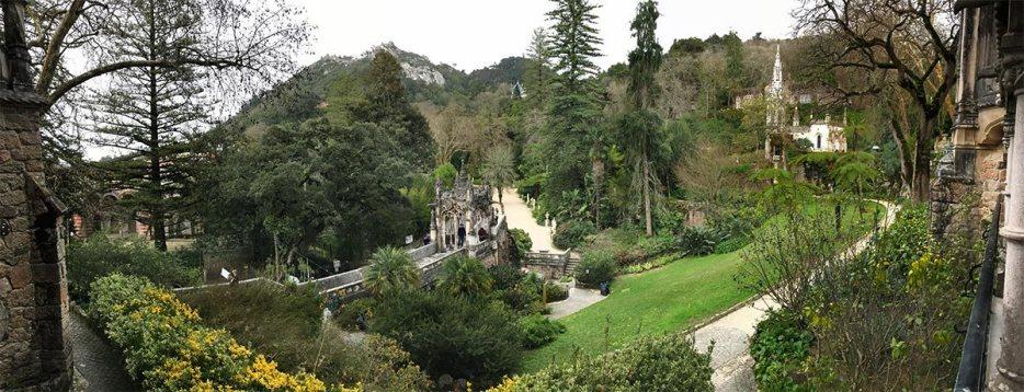 Besuch Quinta da Regaleira in Sintra