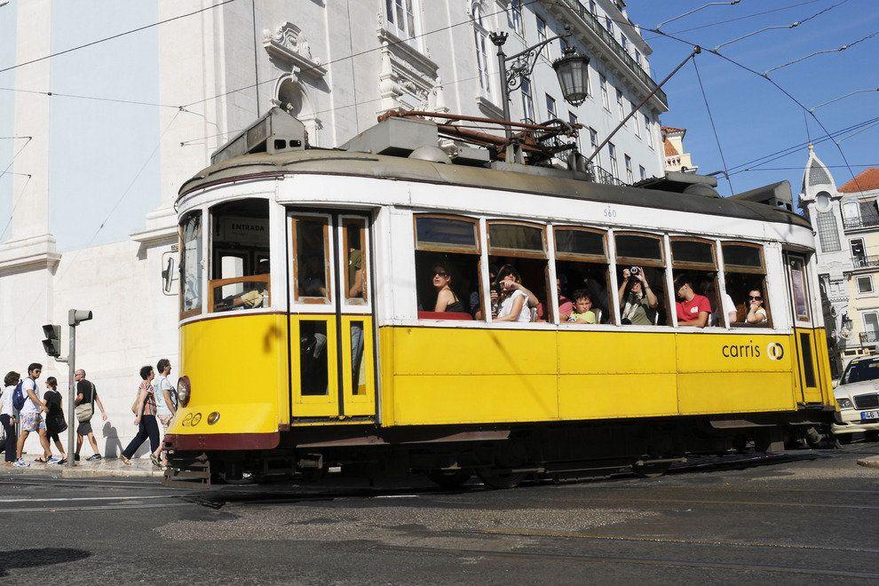 visiter tramway 28 lisbonne