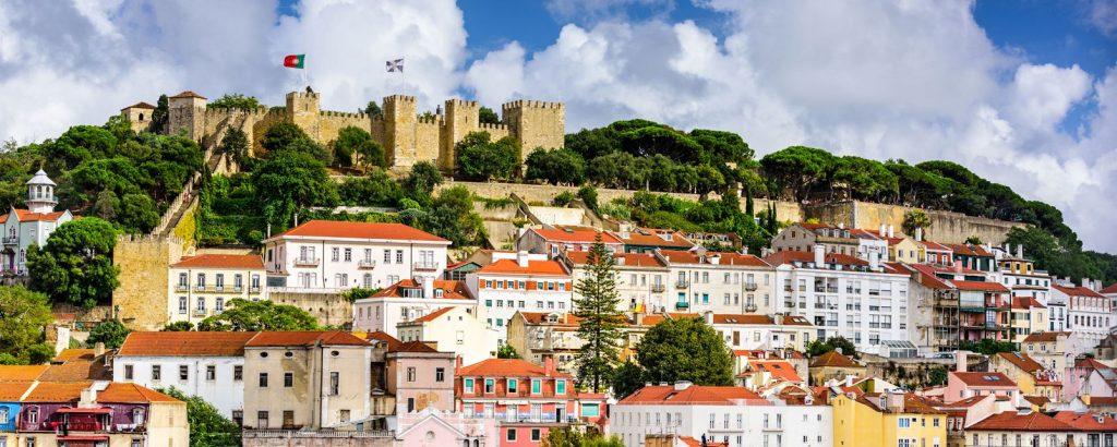 Visita Castello Sao Jorge Lisbona