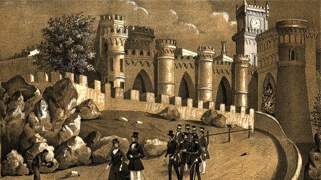 visita palacio pena sintra antiguo