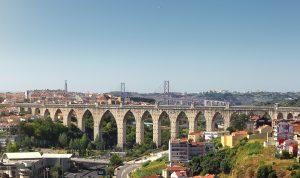Acueducto de las aguas abiertas de Lisboa