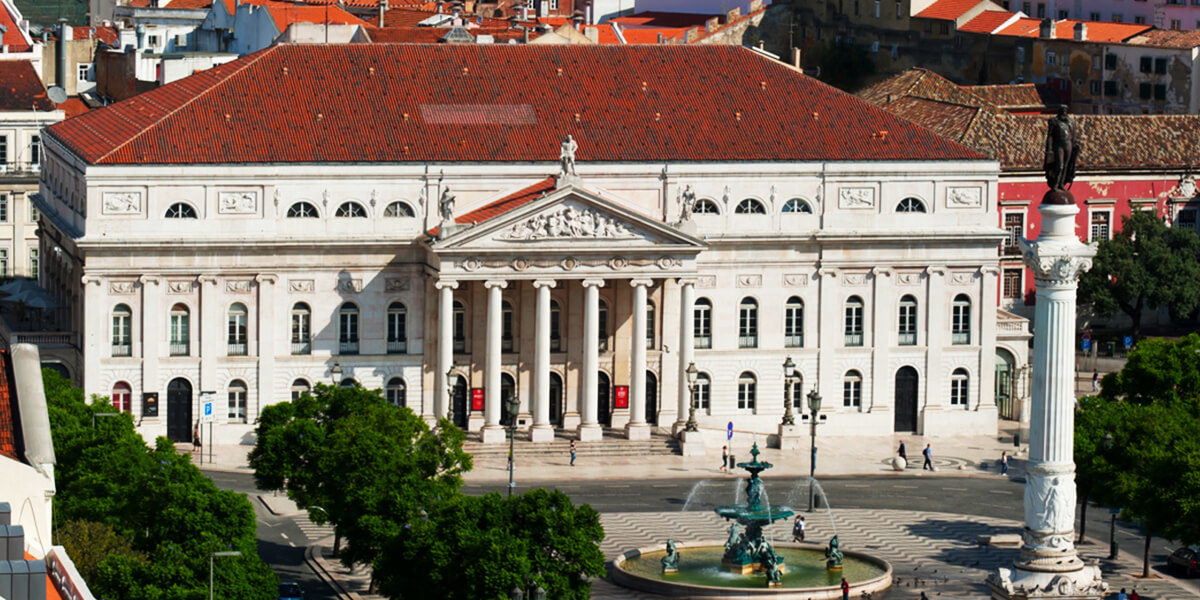 Nationaltheater Dona Maria II in Lissabon