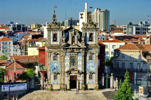 Iglesia de San Ildefonso Porto