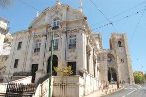 Kirche Santo Antonio Lissabon Portugal
