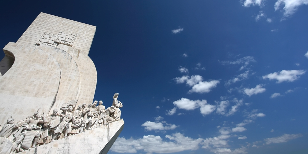 monument to the discoveries of lisbon portugal