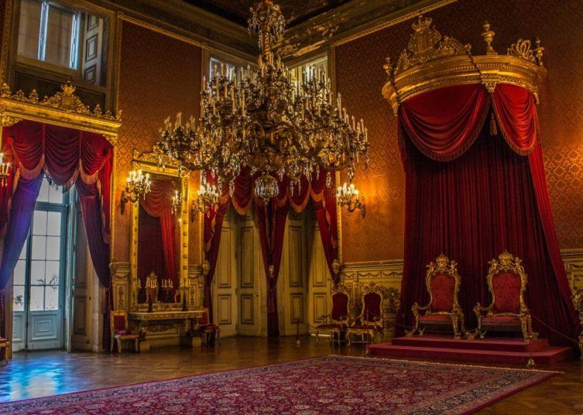 Visita al Palacio de Ajuda Lisboa Portugal